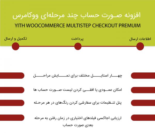افرونه پرداخت چند مرحله ای ووکامرس yith Multi Step checkout