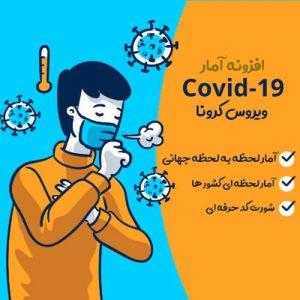 COVID19 آمار زنده برای وردپرس
