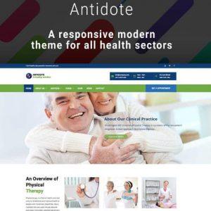 قالب پزشکی و سلامتی وردپرس