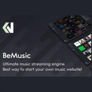 قالب اسکریپت اشتراک موزیک بی موزیک