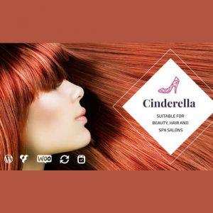 قالب مو و سالن زیبایی سیندرلا