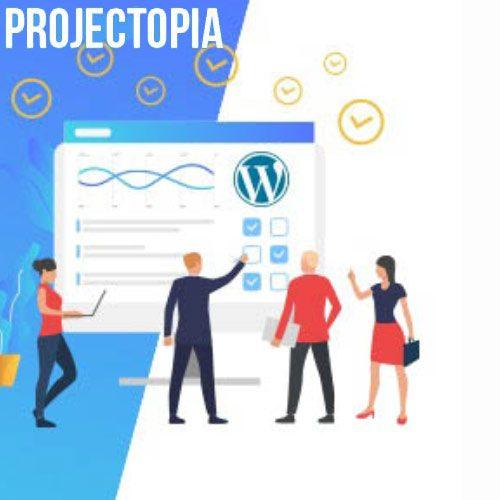افزونه مدیریت پروژه برای وردپرس Projectopia