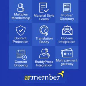 افزونه اشتراک و حق عضویت وردپرس