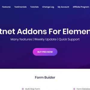افزونه مکمل المنتور|Piotnet Addons For Elementor Pro