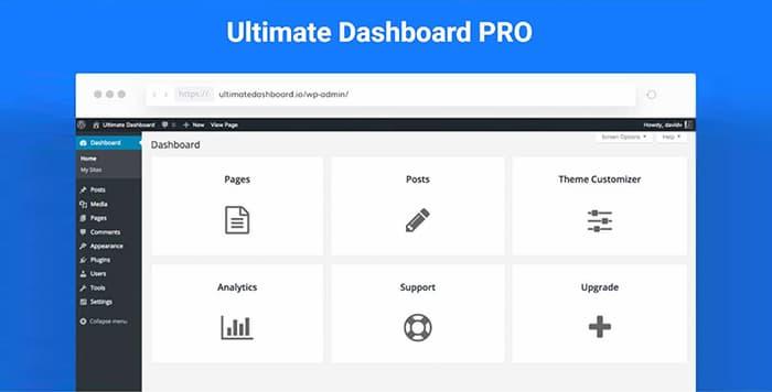 افزونه Ultimate Dashboard Pro