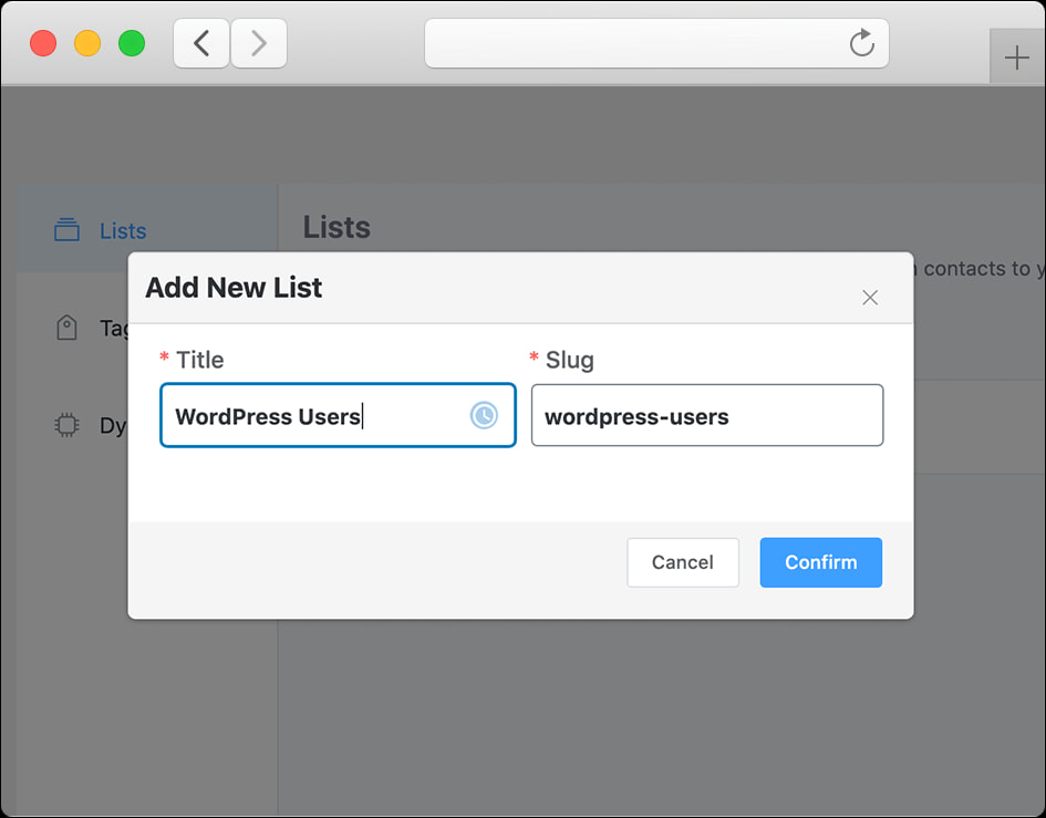 ایجاد لیست مخاطبین/افزونه FluentCRM Pro