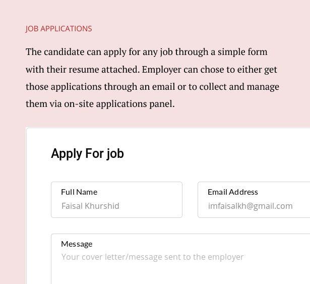 برنامه های شغلی/قالب صفحه وردپرس Capstone