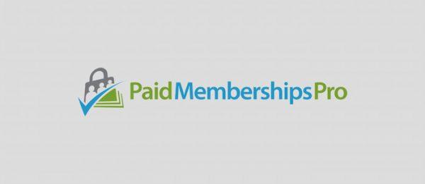 افزونه Paid memberships pro