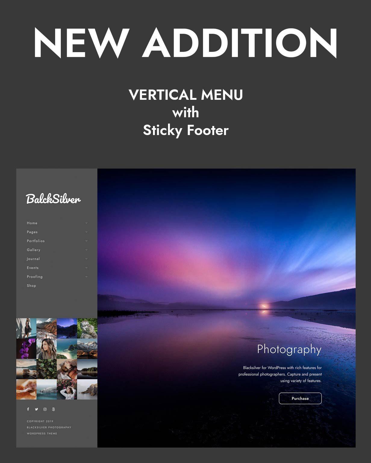 قالب Blacksilver | قالب وردپرس Blacksilver | پوسته فتوگرافی و عکاسی