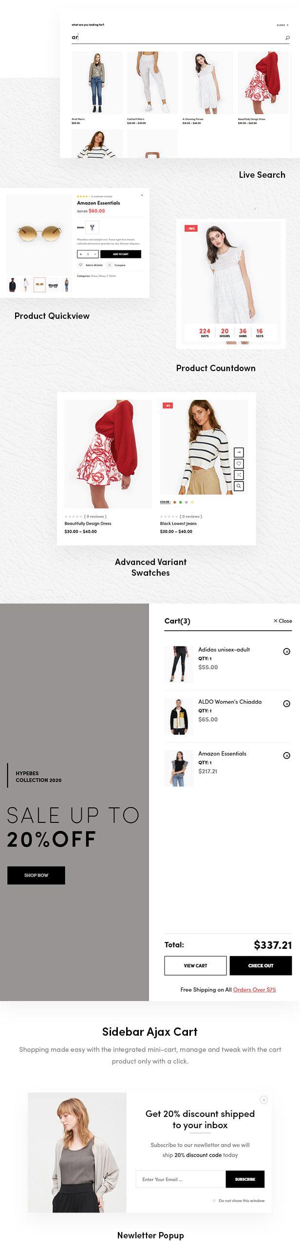 قالب Cerio | قالب ووکامرس مد Cerio | قالب فروشگاهی وردپرس سریو
