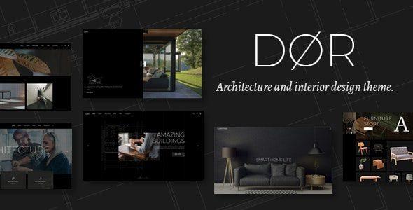 قالب Dor | قالب وردپرس Dør | پوسته مدرن مهندسی و طراحی داخلی وردپرس