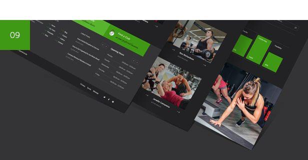 قالب GymBase | قالب وردپرس گیم بیس | قالب ورزشی GymBase
