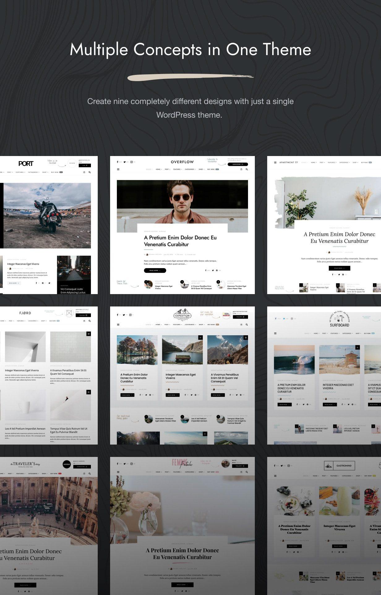 قالب Overflow | قالب وردپرس Overflow | پوسته وبلاگ و مجله وردپرس