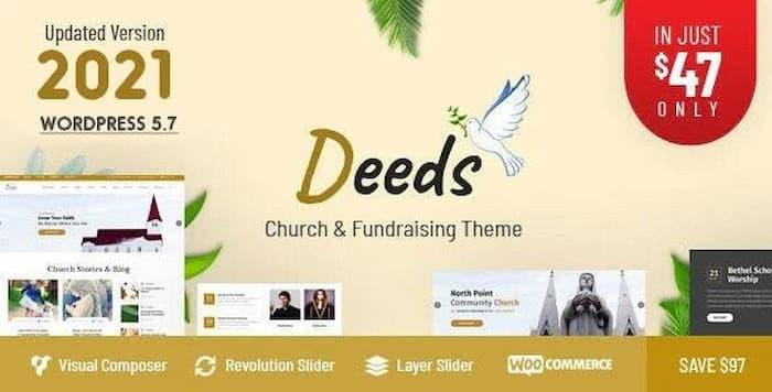 قالب Deeds