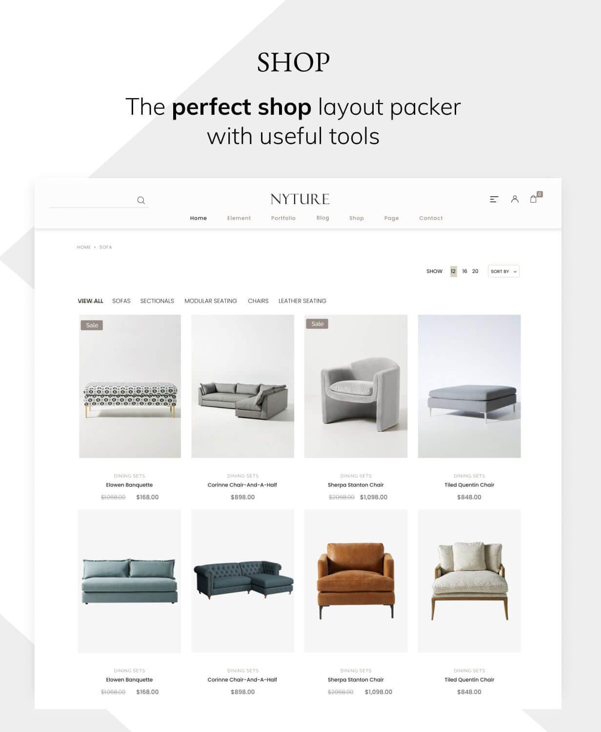 قالب Nyture   ❤️ قالب وردپرس Nyture   قالب فروشگاهی نایچر