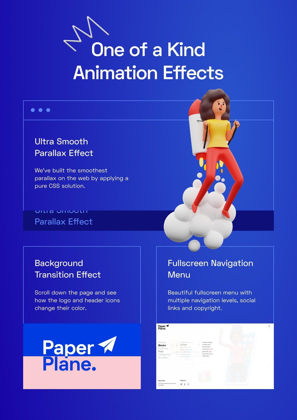 قالب Paper Plane | ❤️ قالب وردپرس Paper Plane | قالب فروشگاهی Paper Plane