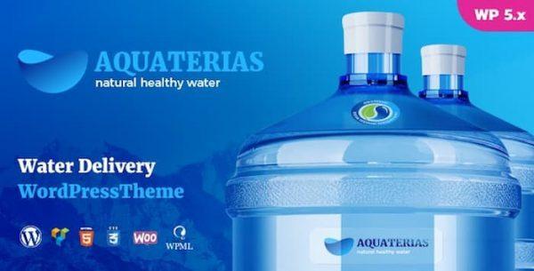 قالب aquaterias قالب آب معدنی